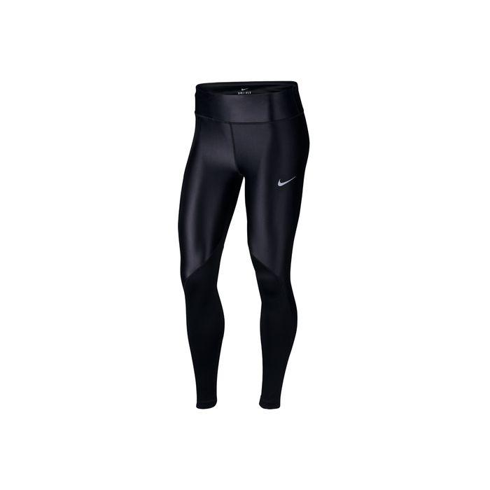 NIKE - Γυναικείο κολάν για τρέξιμο NIKE FAST μαύρο
