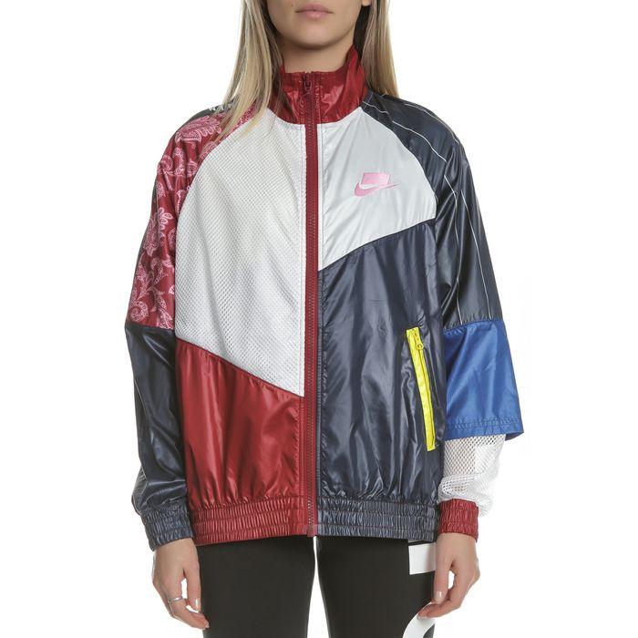 NIKE - Γυναικείο τζάκετ Nike Sportswear πολύχρωμο