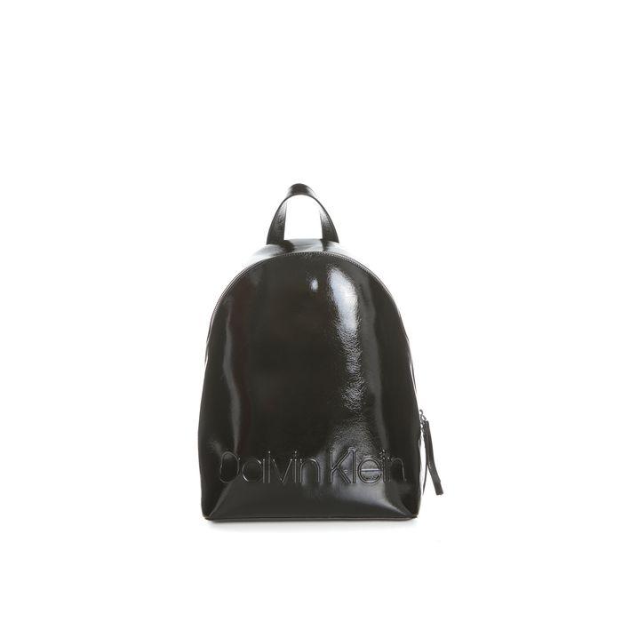 CALVIN KLEIN JEANS - Γυναικεία τσάντα πλάτης EDGED CALVIN KLEIN JEANS μαύρη