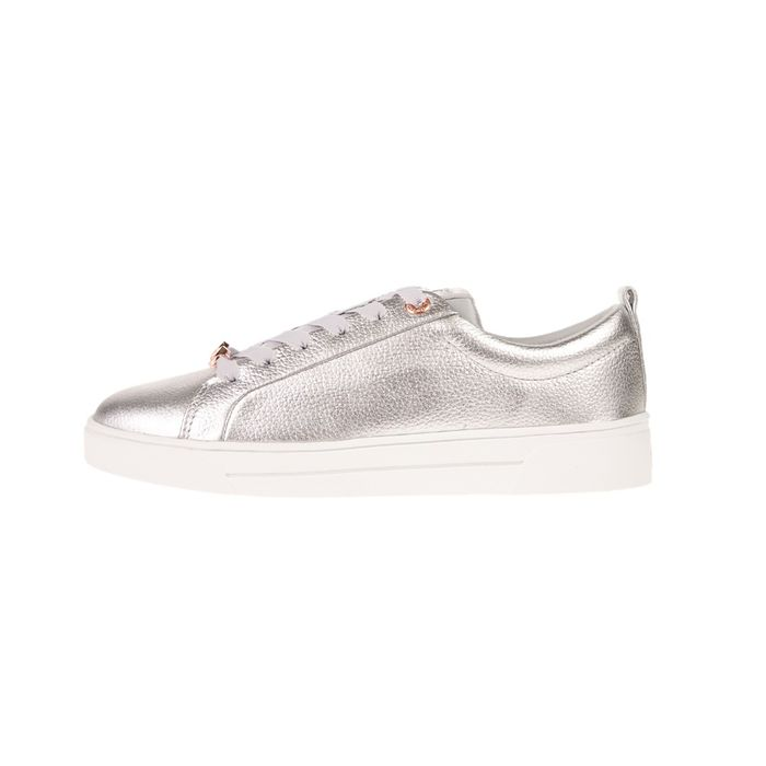 TED BAKER - Γυναικεία sneakers TED BAKER GIELLI ασημί