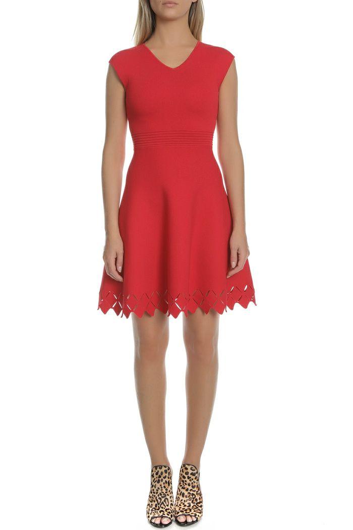 TED BAKER - Γυναικείο μίνι κλος φόρεμα TED BAKER TANNIA κόκκινο