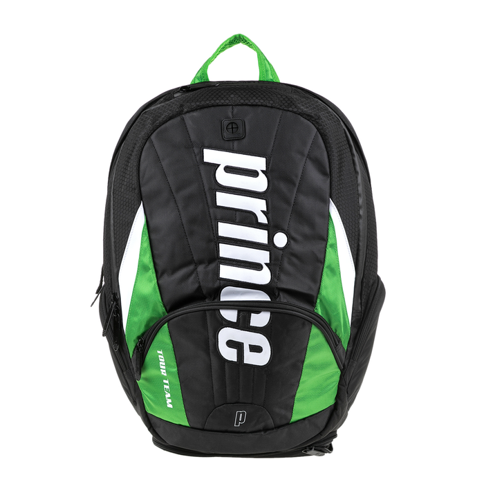 PRINCE - Unisex σακίδιο πλάτης για τένις TOUR TEAM PRINCE μαύρο-πράσινο