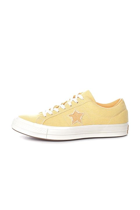 CONVERSE - Unisex sneakers CONVERSE One Star κίτρινα