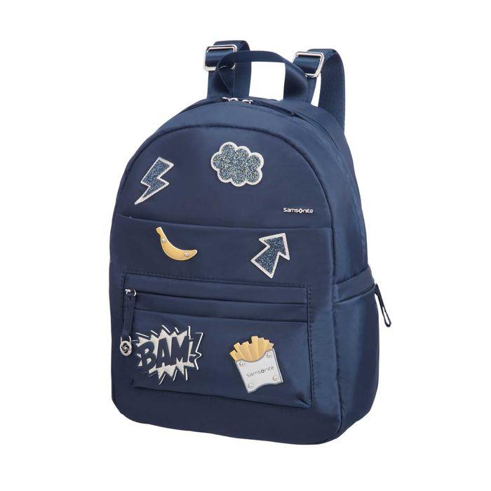 SAMSONITE - Γυναικεία τσάντα SAMSONITE MOVE 2.0 BACKPACK μπλε