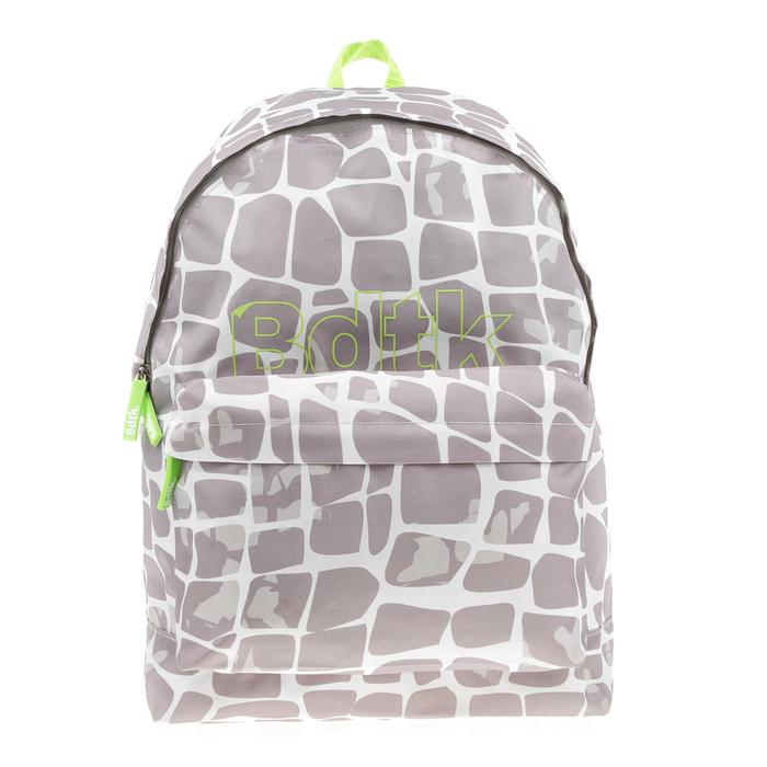 BODYTALK - Unisex τσάντα πλάτης BODYTALK γκρι - λευκή