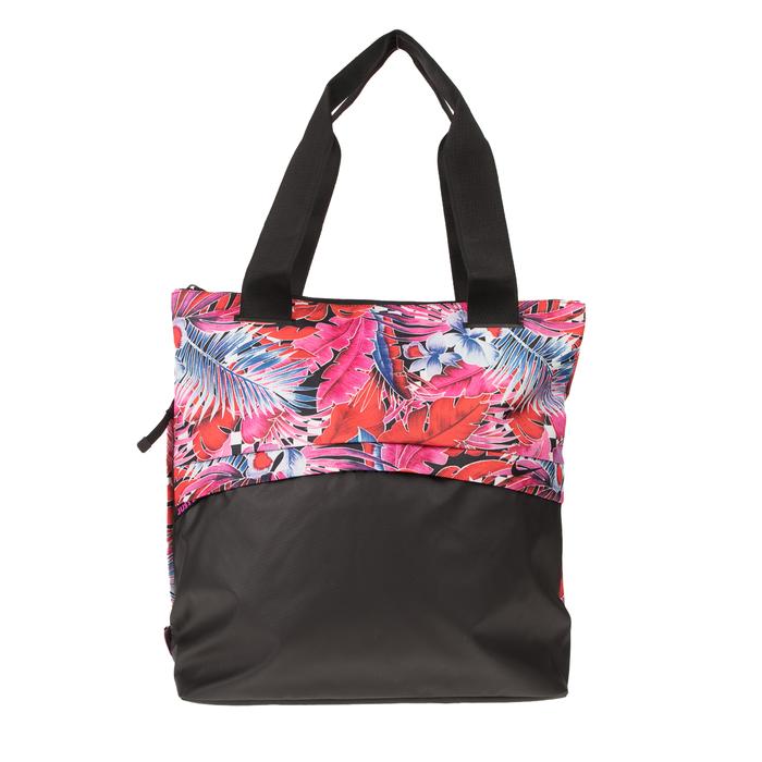NIKE - Γυναικεία τσάντα προπόνησης Nike Radiate μαύρο-φλοράλ