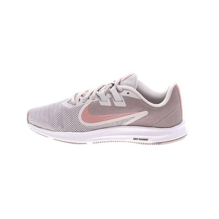 NIKE - Γυναικεία παπούτσια running NIKE DOWNSHIFTER 9 γκρι ροζ