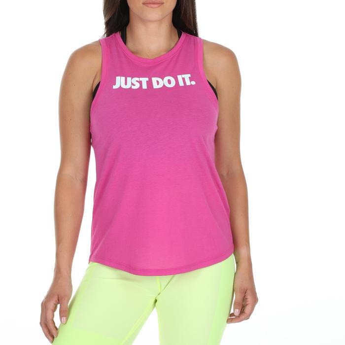NIKE - Γυναικεία αμάνικη μπλούζα NIKE NSW TANK PREP JDI ροζ