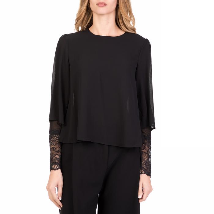 'ALE - Γυναικεία μακρυμάνικη μπλούζα 'ALE μαύρη