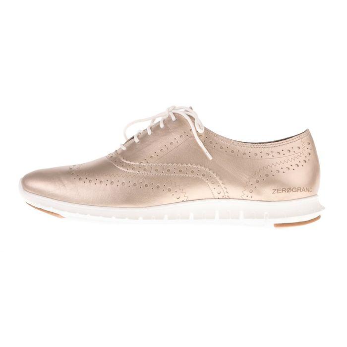 COLE HAAN - Γυναικεία δετά παπούτσια COLE HAAN ZEROGRAND WNG χρυσά