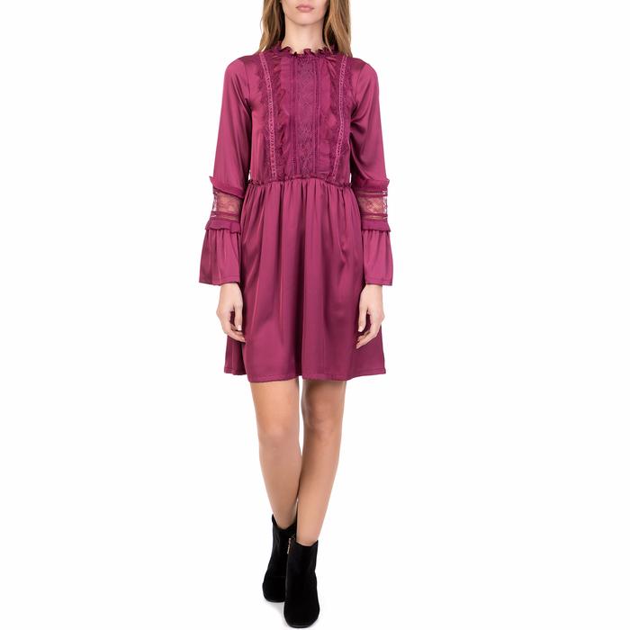 SILVIAN HEACH - Γυναικείο μίνι φόρεμα MOSMAN SILVIAN HEACH μοβ