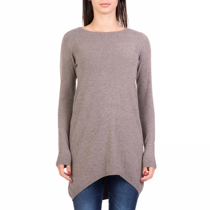 'ALE - Γυναικεία ασυμμέτρη μπλούζα 'ALE γκρι