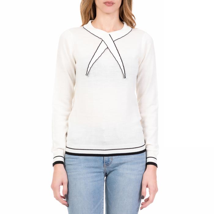 SILVIAN HEACH - Γυναικείο πουλόβερ WIMMERA SILVIAN HEACH λευκό