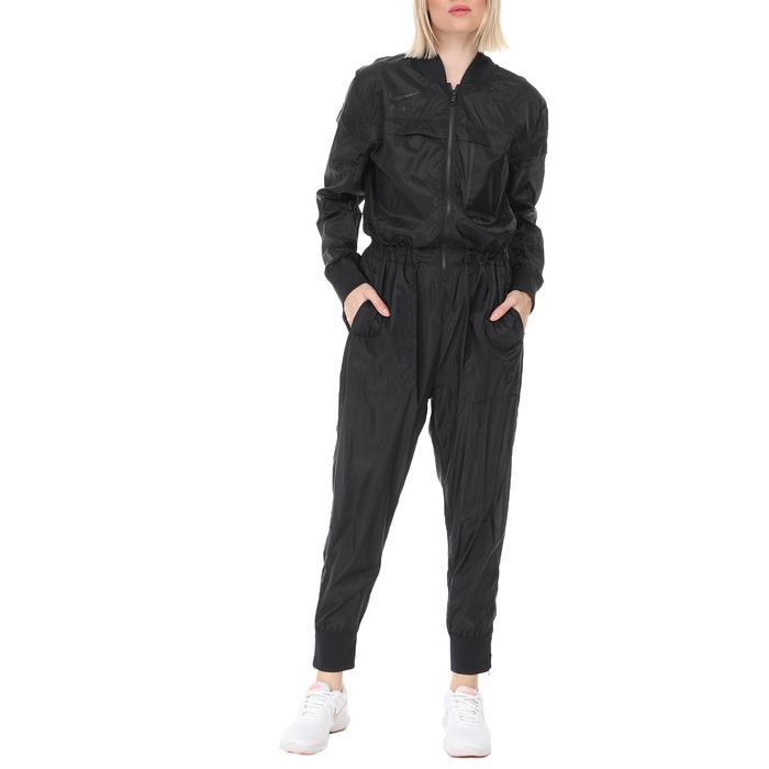 NIKE - Γυναικεία ολόσωμη φόρμα Nike NSW JUMPSUIT FTR AIR μαύρη