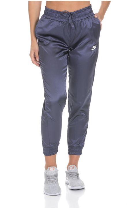 NIKE - Γυναικείο παντελόνι φόρμας Nike AIR TRK PANT SATIN μοβ