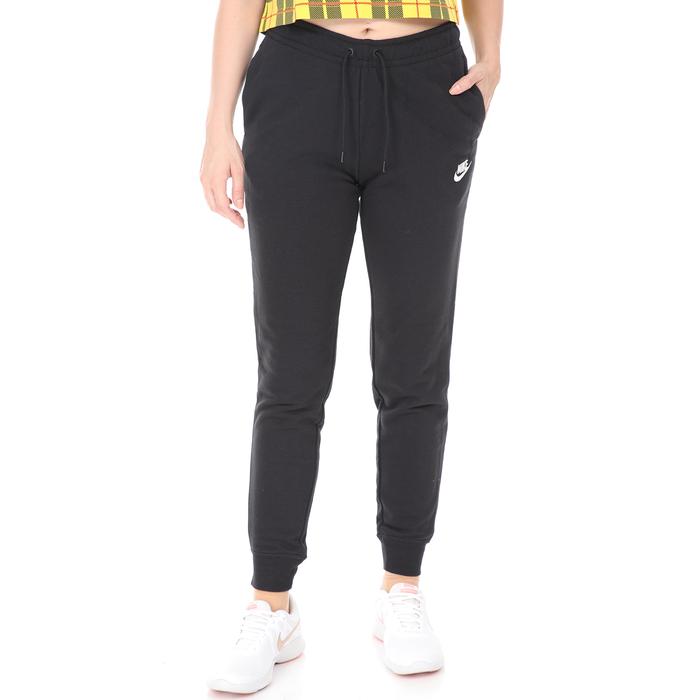 NIKE - Γυναικείο παντελόνι φόρμας Nike NSW ESSENTIAL μαύρο