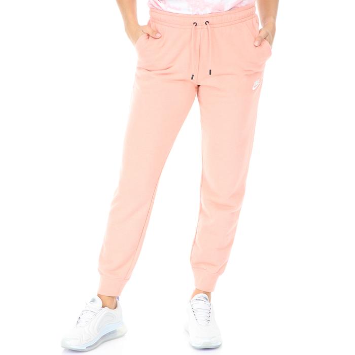 NIKE - Γυναικείο παντελόνι φόρμας NIKE NSW ESSNTL ροζ