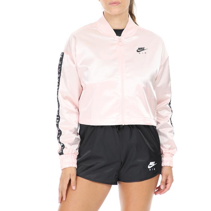 NIKE - Γυναικείο μπουφάν NIKE NSW AIR TRK SATIN ροζ