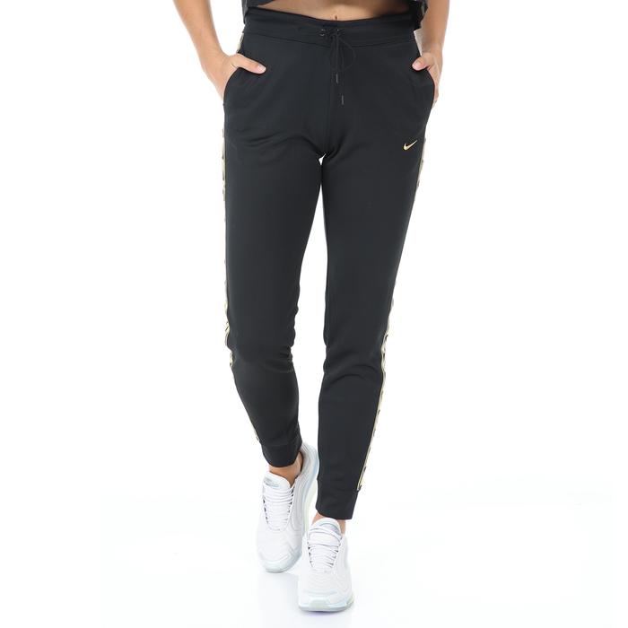 NIKE - Γυναικείο παντελόνι φόρμας ΝΙΚΕ NSW JOGGER LOGO TAPE μαύρο