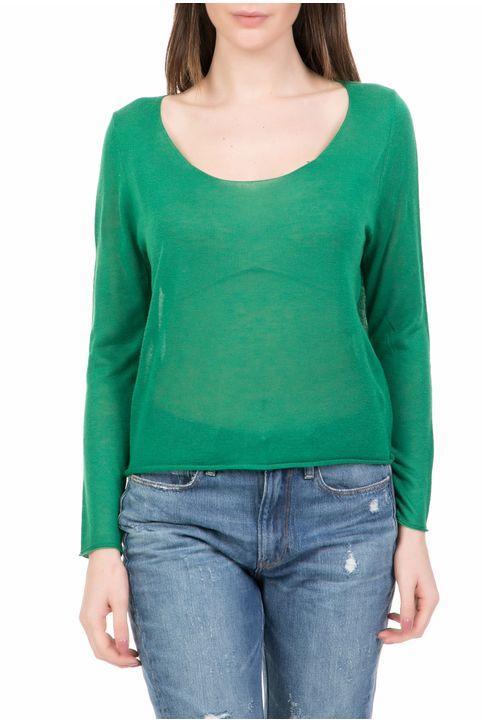 AMERICAN VINTAGE - Γυναικείο πουλόβερ AMERICAN VINTAGE πράσινο