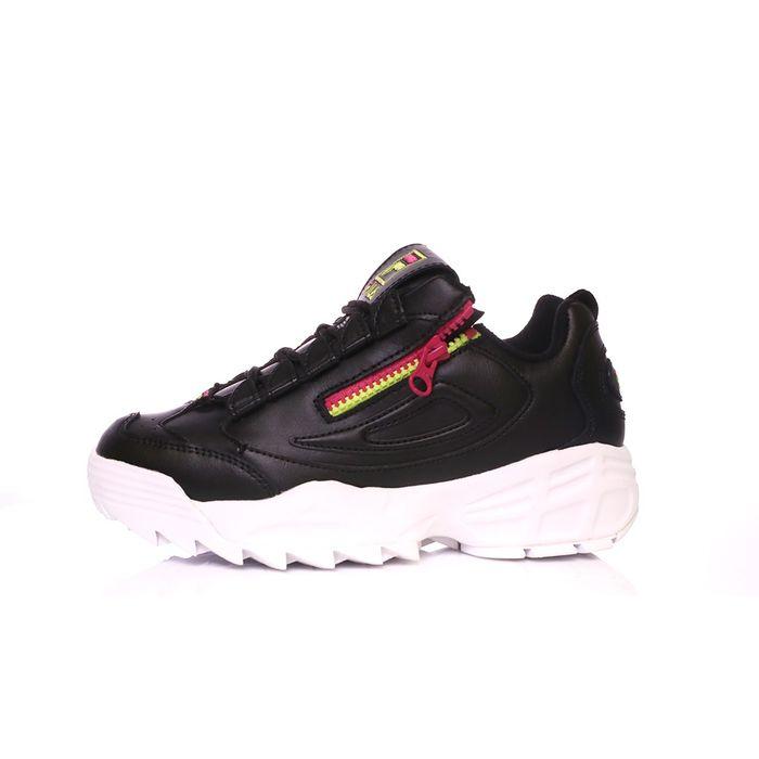 FILA - Γυναικεία παπούτσια FILA DISRUPTOR 3 ZIP μαύρα