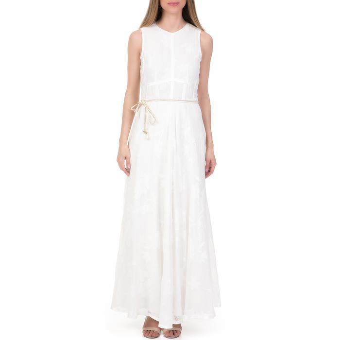 'ALE - Γυναικείο μάξι φόρεμα 'ALE λευκό