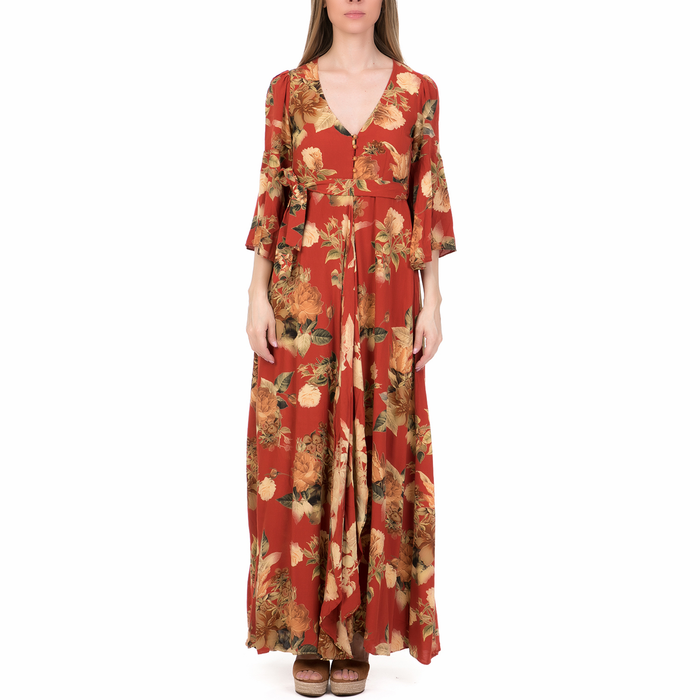 'ALE - Γυναικείο μάξι φόρεμα 'ALE φλοράλ