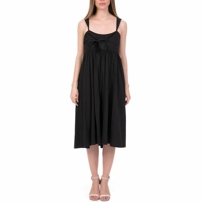 'ALE - Γυναικείο μίντι φόρεμα 'ALE μαύρο