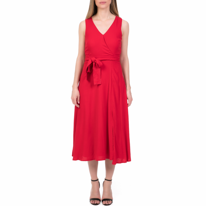 'ALE - Γυναικείο μίντι φόρεμα 'ALE κόκκινο