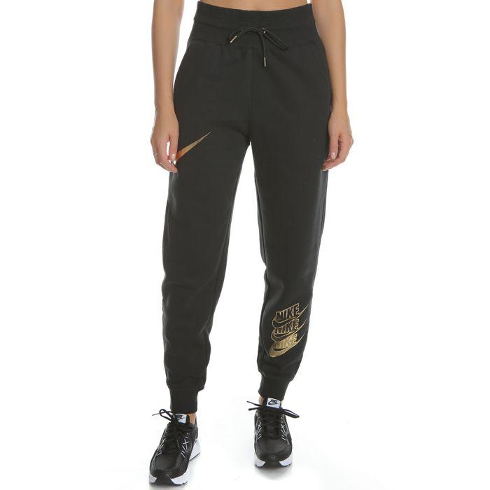 NIKE - Γυναικείο παντελόνι φόρμας NIKE BB SHINE μαύρο
