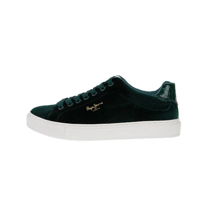 PEPE JEANS - Γυναικεία sneakers PEPE JEANS SHOES ADAMS πράσινα