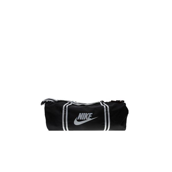 NIKE - Unisex αθλητικό σακίδιο ΝΙΚΕ HERITAGE DUFF DUFFEL BAG μαυρο λευκό