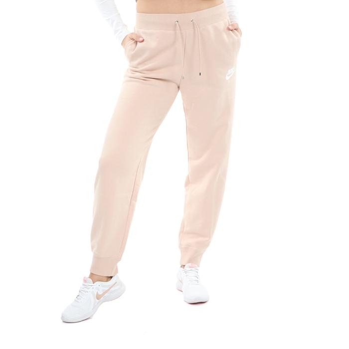 NIKE - Γυναικεία φόρμα NIKE SW AIR PANT FLC BB ροζ