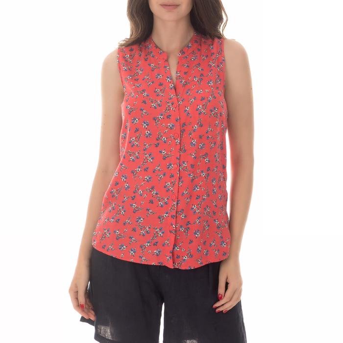 FUNKY BUDDHA - Γυναικείο πουκάμισο FUNKY BUDDHA κόκκινο
