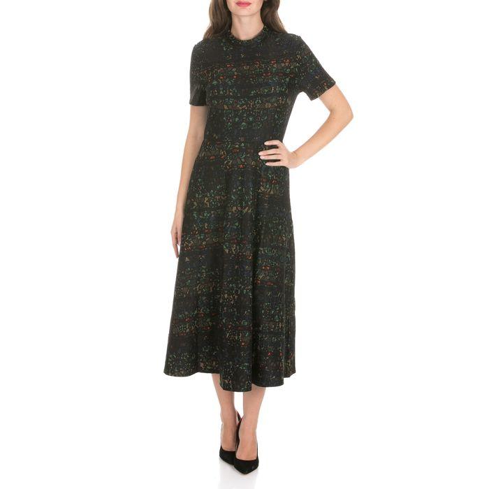 MOLLY BRACKEN - Γυναικείο μάξι φόρεμα MOLLY BRACKEN μαύρο