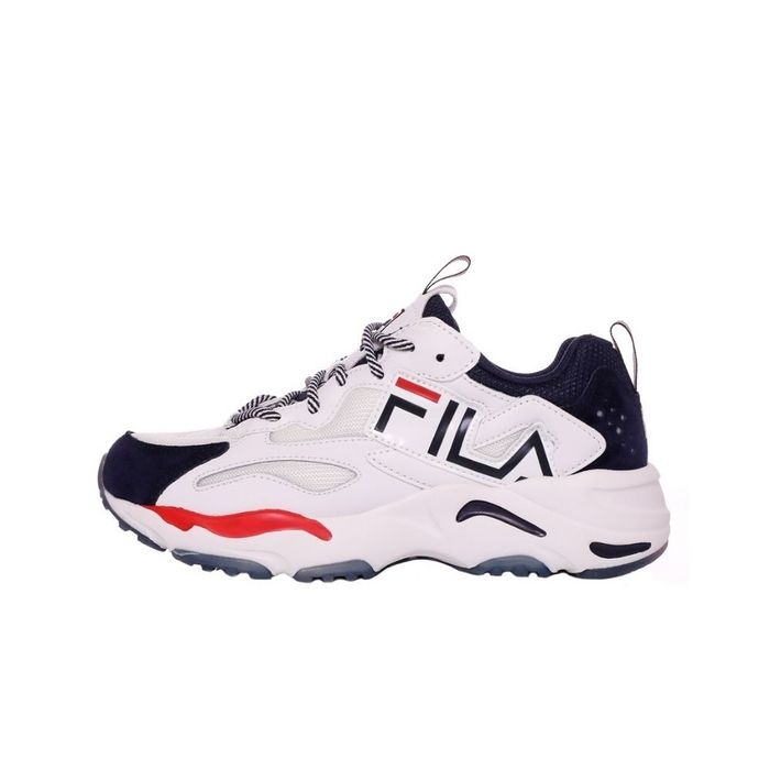 FILA - Γυναικεία sneakers FILA RAY TRACER GRAPHIC FO λευκά μπλε