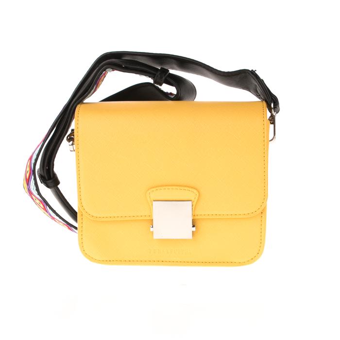 FUNKY BUDDHA - Γυναικεία τσάντα χιαστί FUNKY BUDDHA κίτρινη