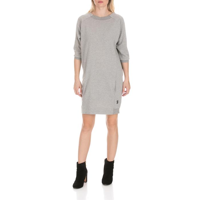 DEVERGO JEANS - Γυναικείο φόρεμα DEVERGO JEANS γκρι