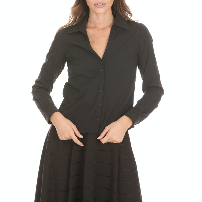 'ALE - Γυναικείο πουκάμισο 'ALE μαύρο