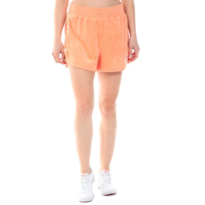 NIKE - Γυναικείο σορτς NIKE NSW RETRO FEMME SHORT TERRY πορτοκαλί