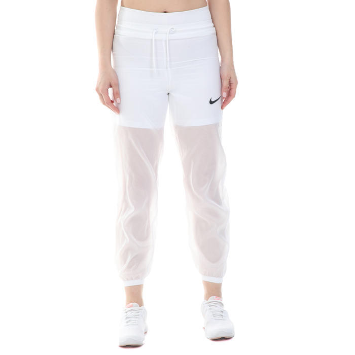 NIKE - Γυναικεία φόρμα NIKE NSW INDIO PANT WOVEN λευκή