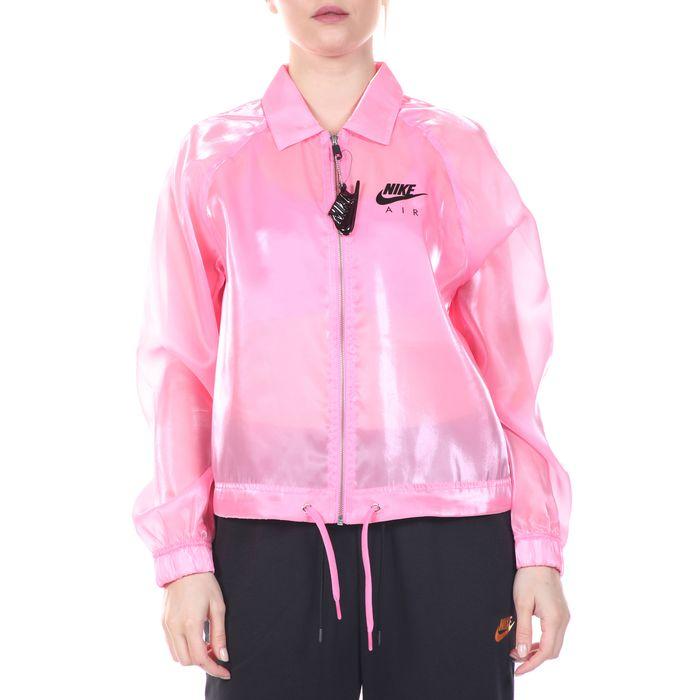 NIKE - Γυναικείο jacket NIKE NSW AIR JKT SHEEN ροζ
