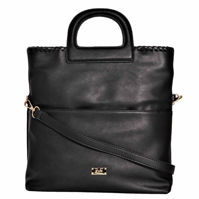 19V69 ITALIA - Γυναικεία τσάντα χειρός 19V69 ITALIA μαύρη