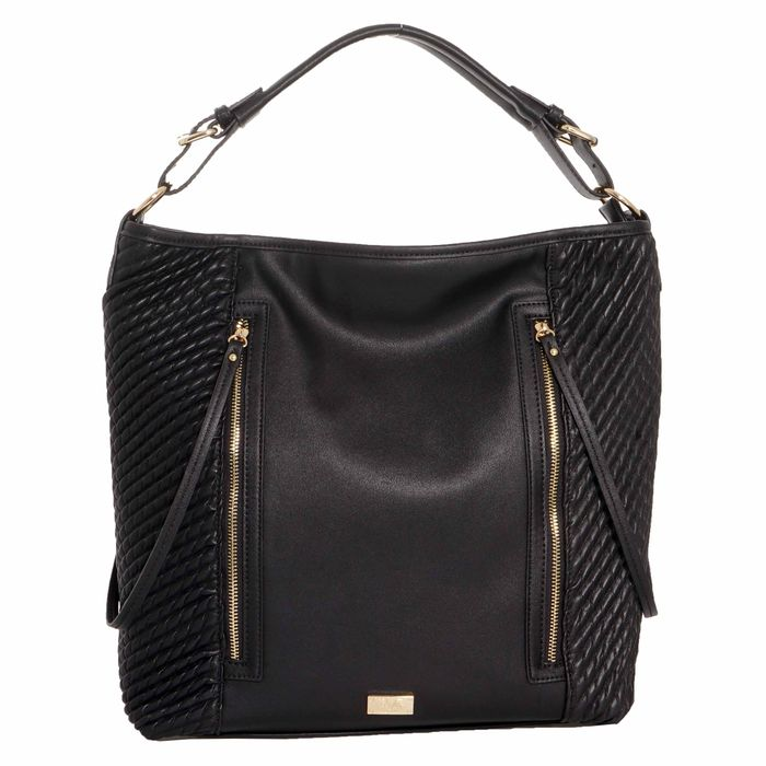 19V69 ITALIA - Γυναικεία τσάντα ώμου 19V69 μαύρη