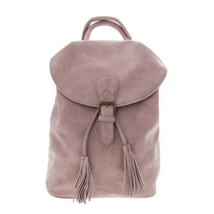 FUNKY BUDDHA - Γυναικεία τσάντα πλάτης FUNKY BUDDHA ροζ
