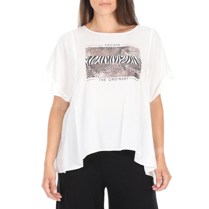 'ALE - Γυναικεία μπλούζα 'ALE λευκή