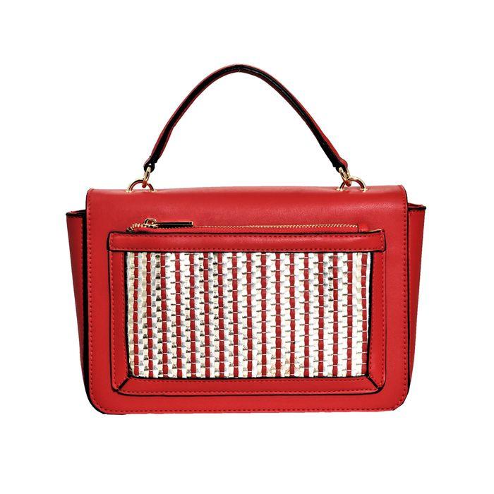 19V69 ITALIA - Γυναικεία τσάντα χειρός 19V69 κόκκινη