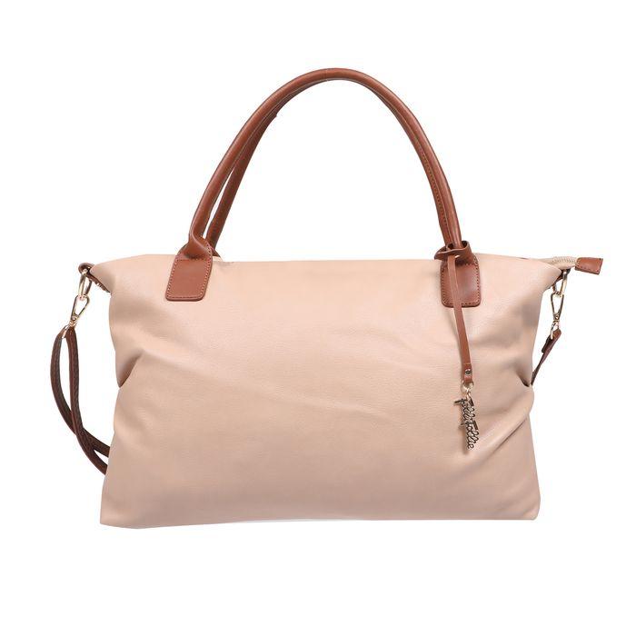 FOLLI FOLLIE - Γυναικεία τσάντα ώμου FOLLI FOLLIE City Chic ροζ