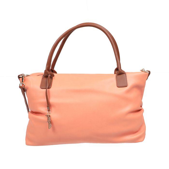 FOLLI FOLLIE - Γυναικεία τσάντα ώμου FOLLI FOLLIE City Chic πορτοκαλί
