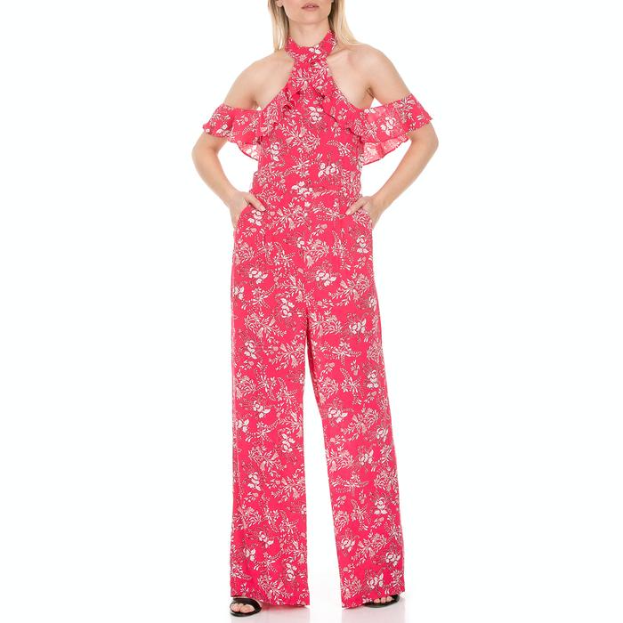 GUESS - Γυναικεία ολόσωμη φόρμα GUESS φούξια